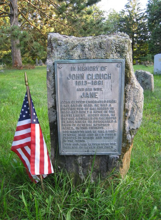 John Clough Memorial
