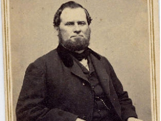 Captain Benjamin Clough (1819 - 1889)