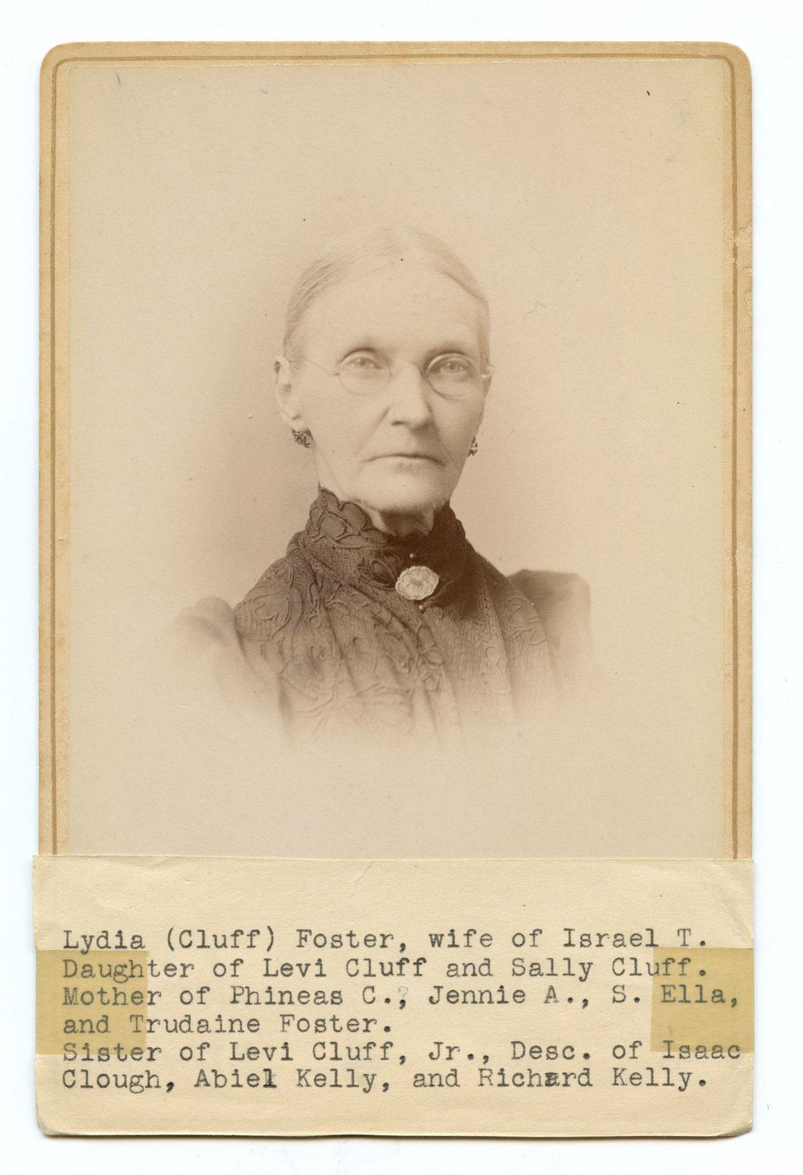 Lydia Cluff Foster