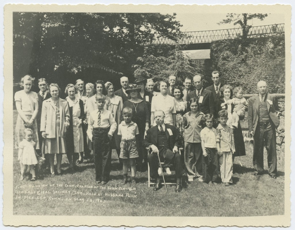1st reunion of the Conn. Chapter of the JCGS- Hubbard Park, Meriden, Conn, 24 May 1942