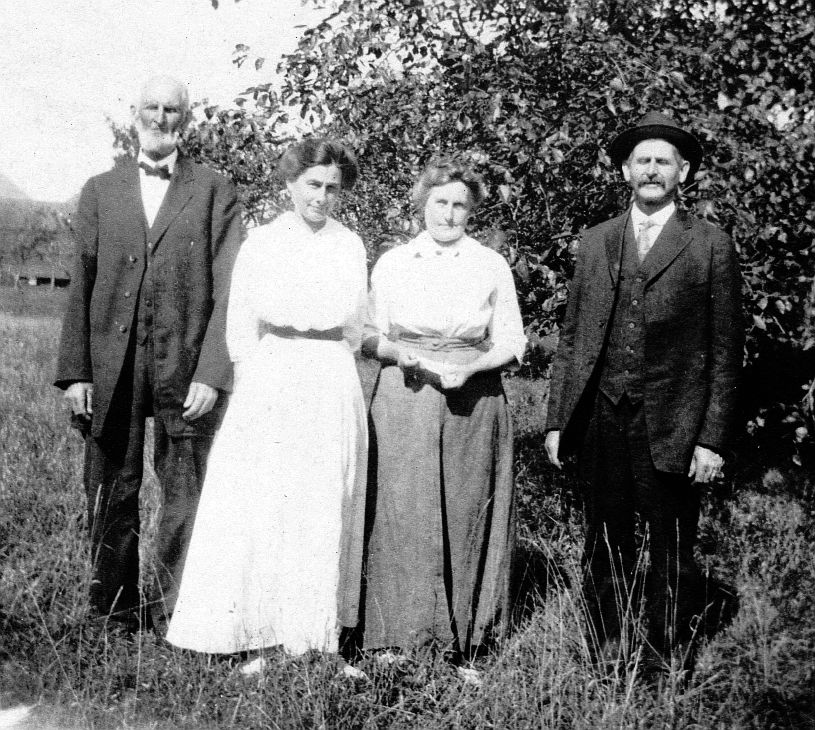 George Marston Clough, Grace, Lizzie, and Richard