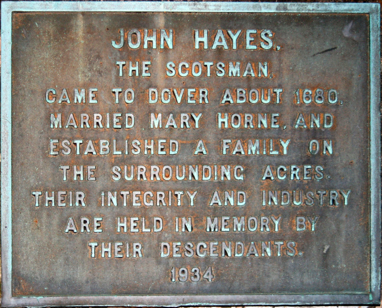 John Hayes- The Scotsman