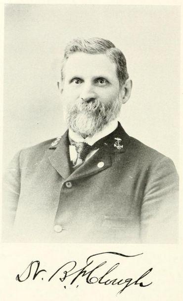 Dr. Benjamin F. Clough (b. 4 Feb 1838, d. 8 May 1899)