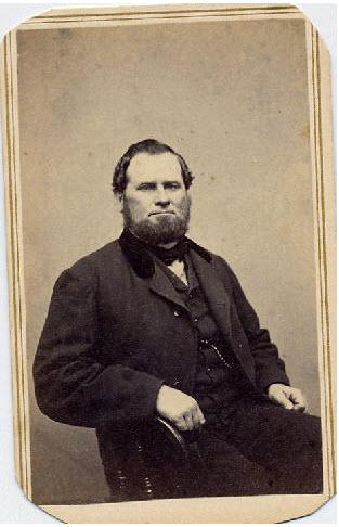 Captain Benjamin Clough (1819 - 1889)