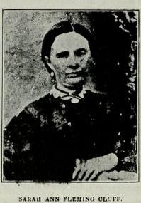 Sarah Ann Fleming Cluff
